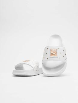 Puma Claquettes & Sandales Leadcat Studs blanc