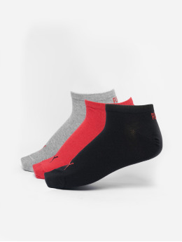 Puma Dobotex Ponožky Unisex Sneaker Plain 3P èierna
