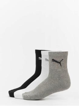 Puma Dobotex Ponožky 3 Pack Short Crew šedá