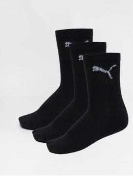Puma Dobotex Socken Short Crew 3P Unisex schwarz