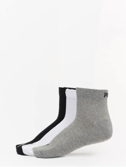Puma Dobotex Socks 3 Pack Quarter Plain  grey
