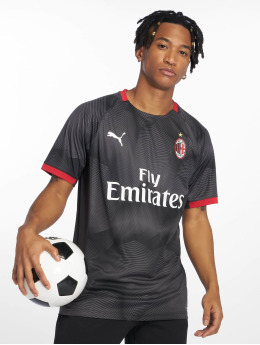 Puma Fodboldtrøjer AC Milan Stadium Graphic sort