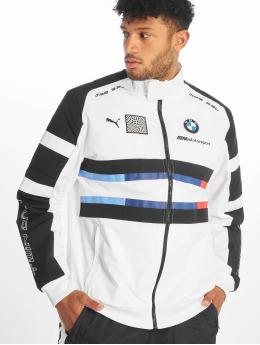 Puma Giacca Mezza Stagione BMW MMS Street Woven bianco