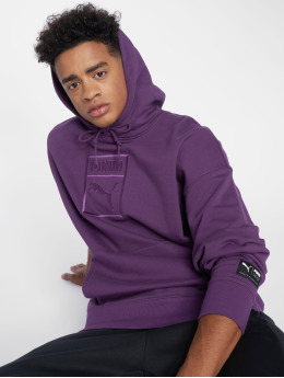 Puma Hoodie Downtown Oversize purple