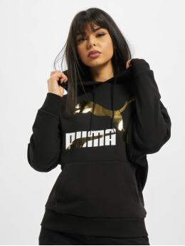 Puma Hoodies Logo sort