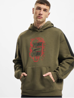 Puma Hoody Between The Lines T7 olive