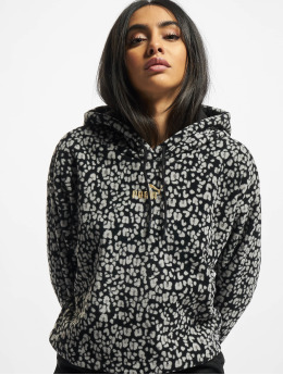 Puma Hoody Winterized All Over Print Cropped  zwart