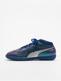 Puma Indoorschuhe One 4 Syn IT JR Soccer blau