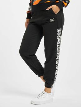 Puma Jogging kalhoty Classics  čern