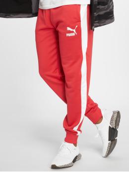 Puma Jogging kalhoty Classics T7 červený