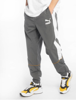 Puma Jogging kalhoty Retro Woven šedá