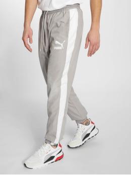 Puma Jogging kalhoty Iconic T7 šedá
