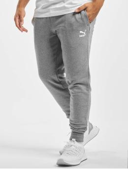 Puma Jogging kalhoty Embroidery  šedá