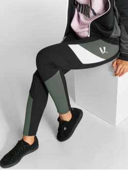 Puma Leggings Retro Rib nero