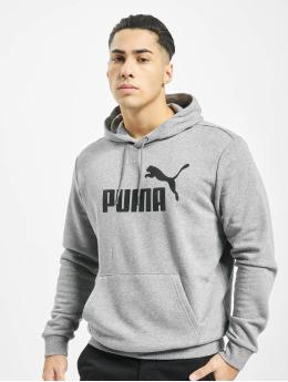 Puma Mikiny Essentials TR Big Logo šedá
