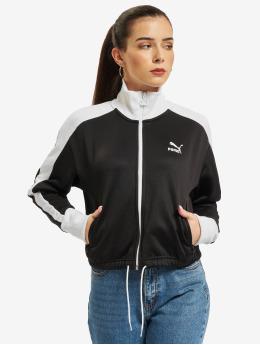 Puma Övergångsjackor Iconic T7 Crop svart