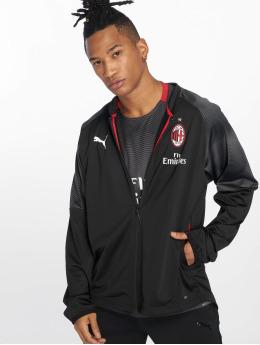 Puma Performance Демисезонная куртка Puma AC Milan Stadium Poly Jacke черный