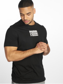 Puma Performance Футболка Rebel Up Basic черный