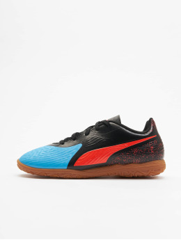 Puma Performance Hallenschuhe One 19.4 IT Junior niebieski