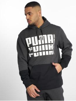 Puma Performance Hoodie Rebel Up gray