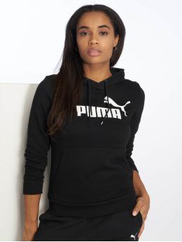 Puma Performance Hoodies ESS Logo čern