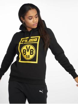 Puma Performance Hoodies BVB Fanwear sort