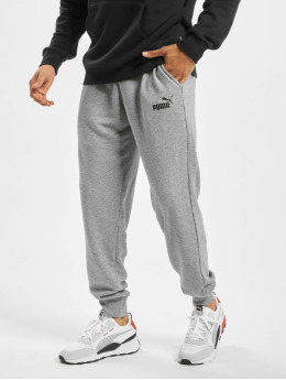 Puma Performance Jogger Pants Performance ESS Logo grau