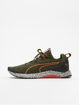 Puma Performance Laufschuhe Hybrid Runner Unrest olive