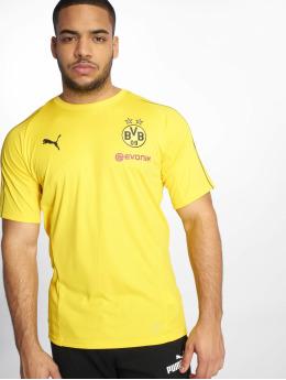 Puma Performance Maillot de Football BVB Training Jersey jaune