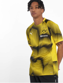 Puma Performance Maillot de Football BVB Stadium Graphic jaune