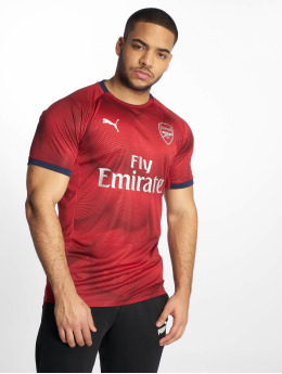 Puma Performance Maillot de Football Arsenal FC Graphic Jersey rouge