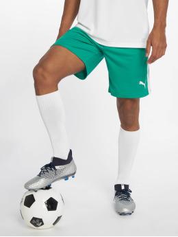 Puma Performance Pantalones cortos de fútbol LIGA verde