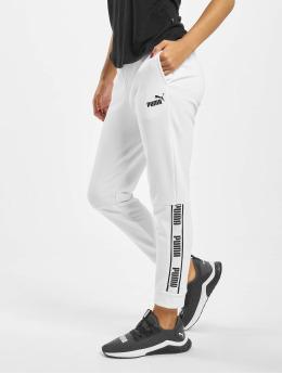 Puma Performance Pantalons de jogging Amplified blanc