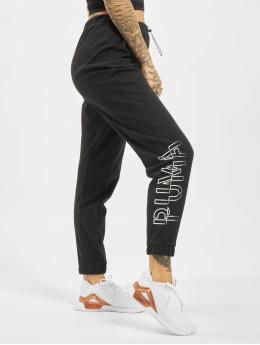 Puma Performance Pantalons de jogging Hit Feel It  noir