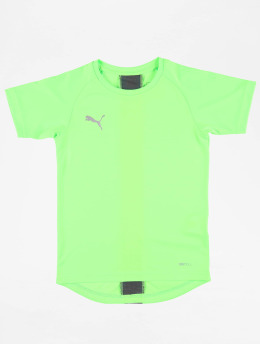 Puma Performance Shirts de Sport Junior  vert