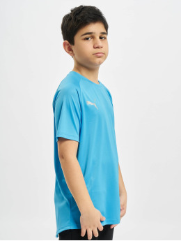 Puma Performance Sport Shirts Junior blauw