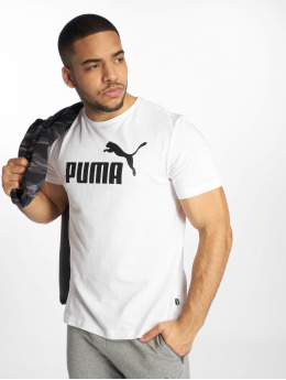 Puma Performance Sport Shirts ESS Logo hvid