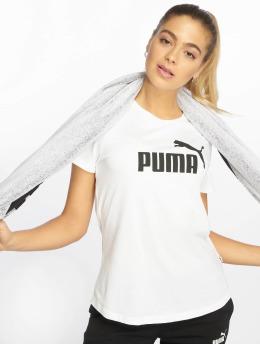 Puma Performance Sport Shirts ESS Logo hvit