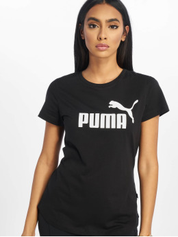 Puma Performance Sport Shirts ESS Logo  sort