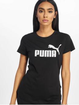Puma Performance Sport Shirts ESS Logo  zwart