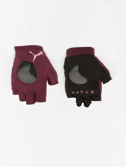 Puma Performance Sports Gloves At Gym red