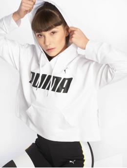 Puma Performance Sports Hoodies Modern white