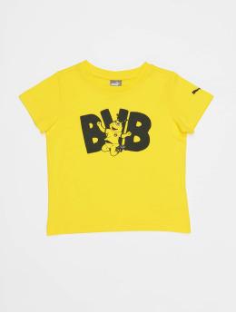 Puma Performance T-shirt BVB Minicats Graphic giallo