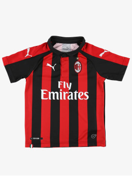 Puma Performance T-Shirt AC Milan HOME Jr. Replica rot
