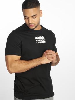 Puma Performance t-shirt Rebel Up Basic zwart