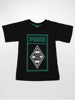 Puma Performance t-shirt BMG Shoe Tag Jr zwart