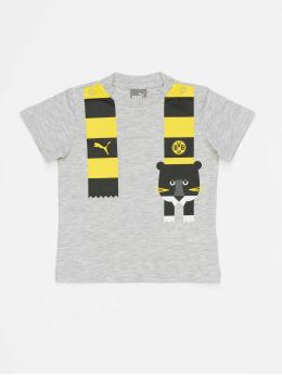 Puma Performance T-shirts  BVB Minicats Graphic grå