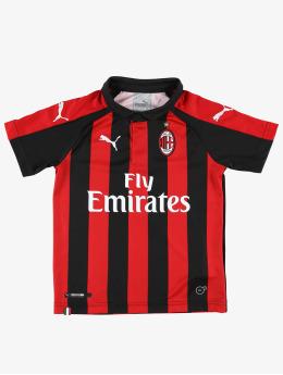 Puma Performance T-skjorter AC Milan HOME Jr. Replica red
