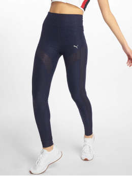 Puma Performance Tights Spotlite Full niebieski
