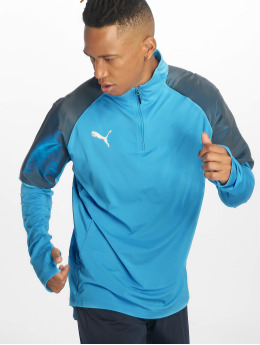 Puma Performance Trainingsjacken 1/4 Zip niebieski